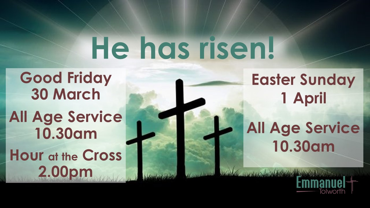 Good Friday – Hour At The Cross