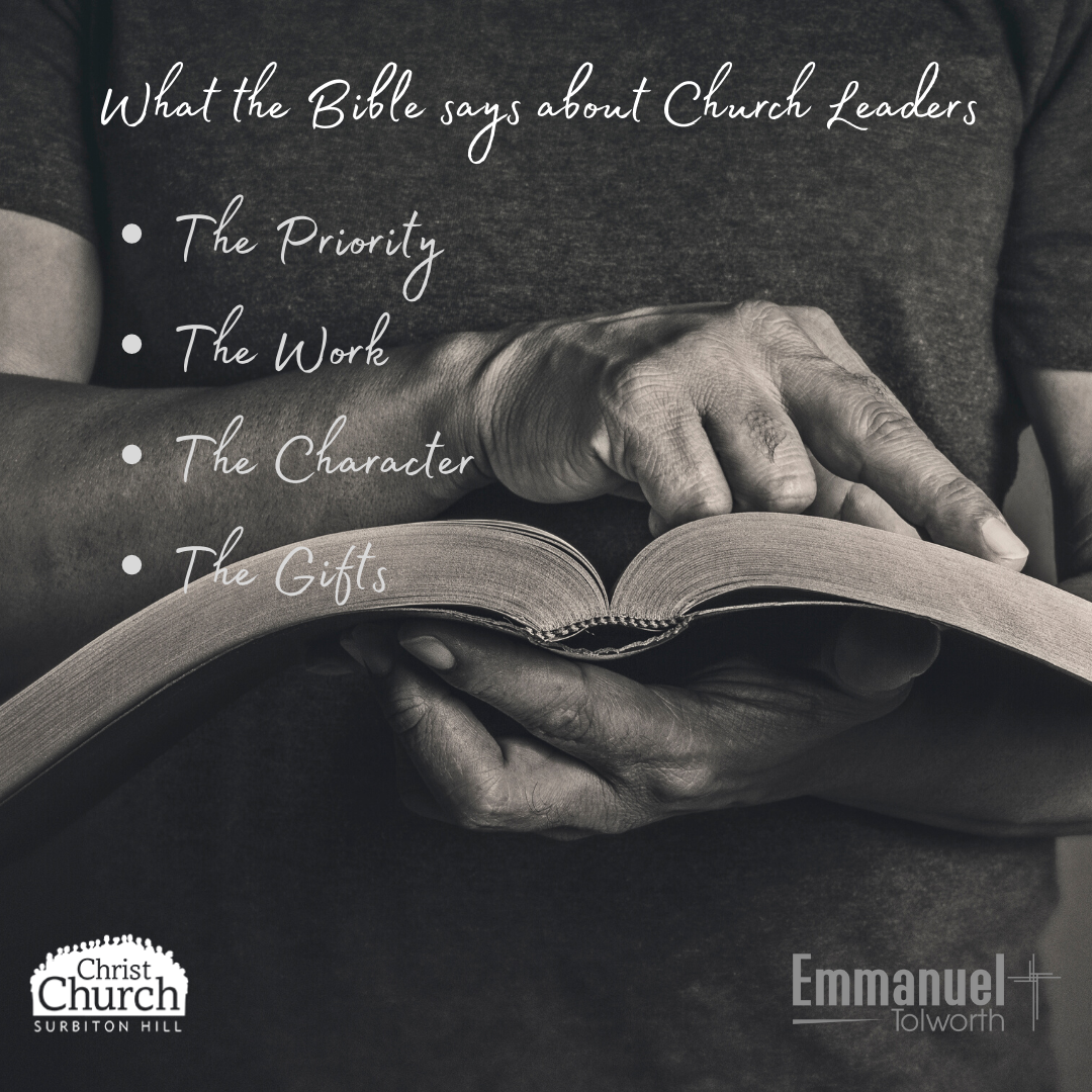 The Character of a Church Leader – Titus 1:5-16